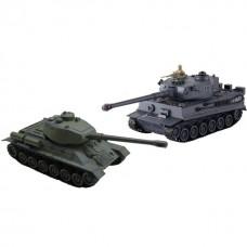 Радиоуправляемый танковый бой T34 и Tiger 1:28 - 99824
